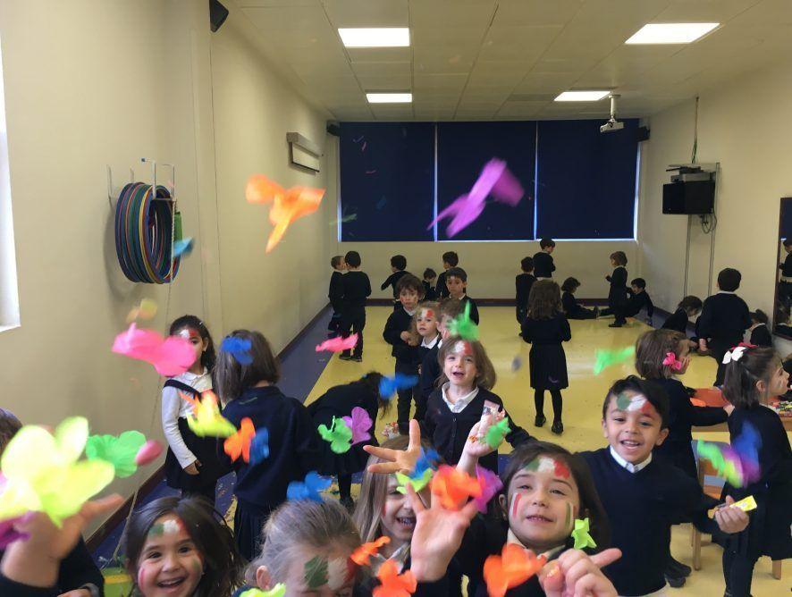 Fiesta de México de los alumnos de 4 años